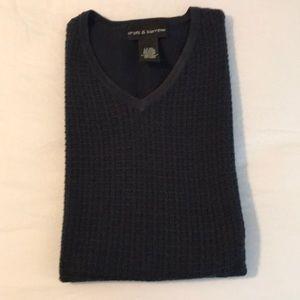 Croft and Barrow Navy VNeck SweaterVest Mens Sz XL